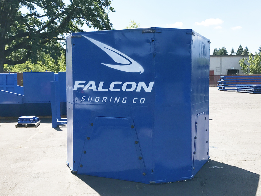 Manhole Shield by Falcon Shoring Co.